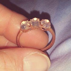 Galileo Rose Quartz Ring